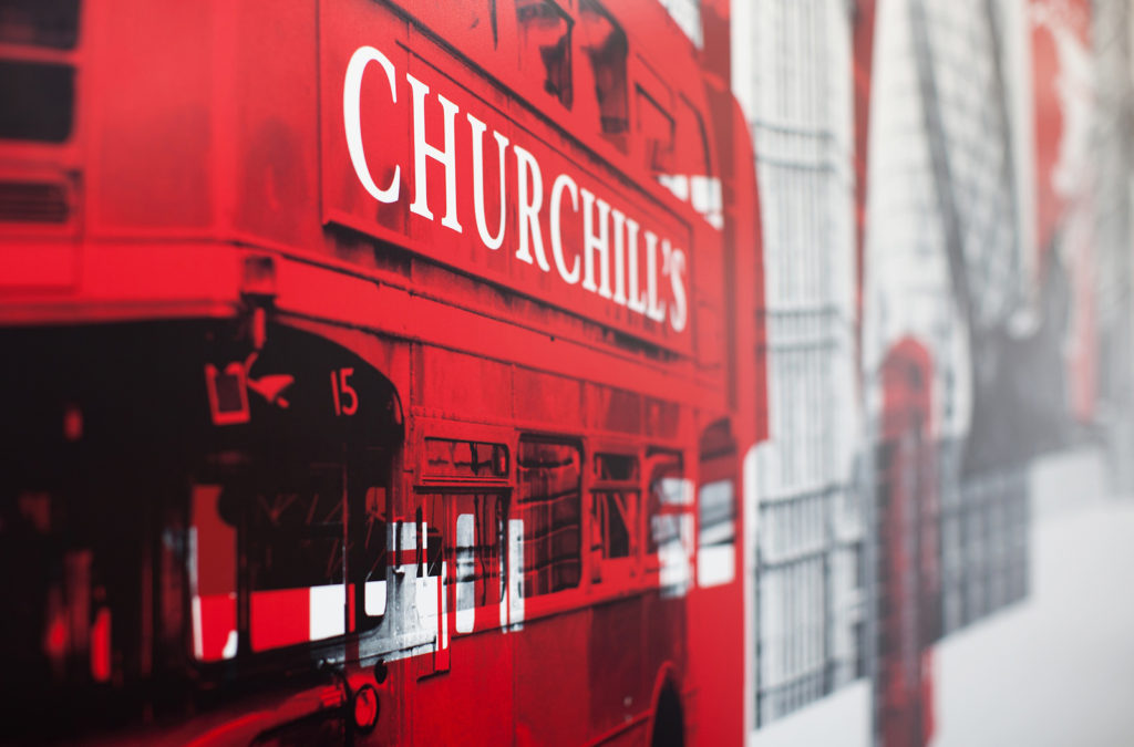 Churchill's Stansted Fish and Chips