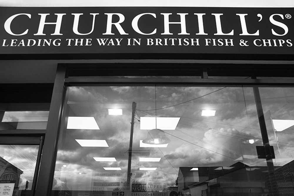 Churchills Fish and Chips offering local delivery and