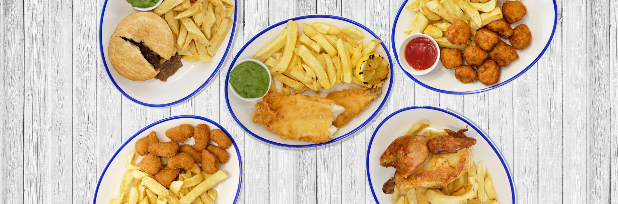 Home of Takeaway Fish & Chips and Delivery