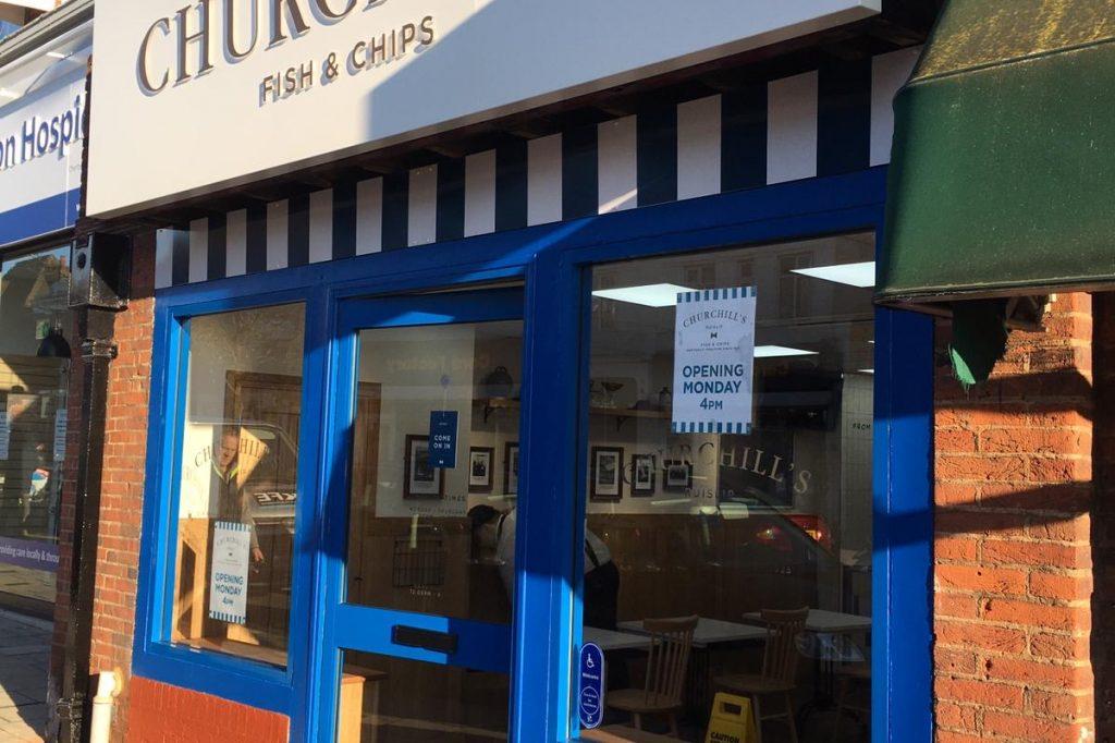 Churchills Fish and Chips Ruislip