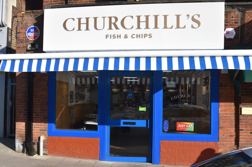 Fish chip shop offering local delivery gluten free menu