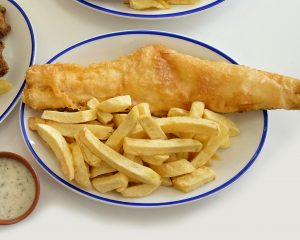 fish and chips delivery